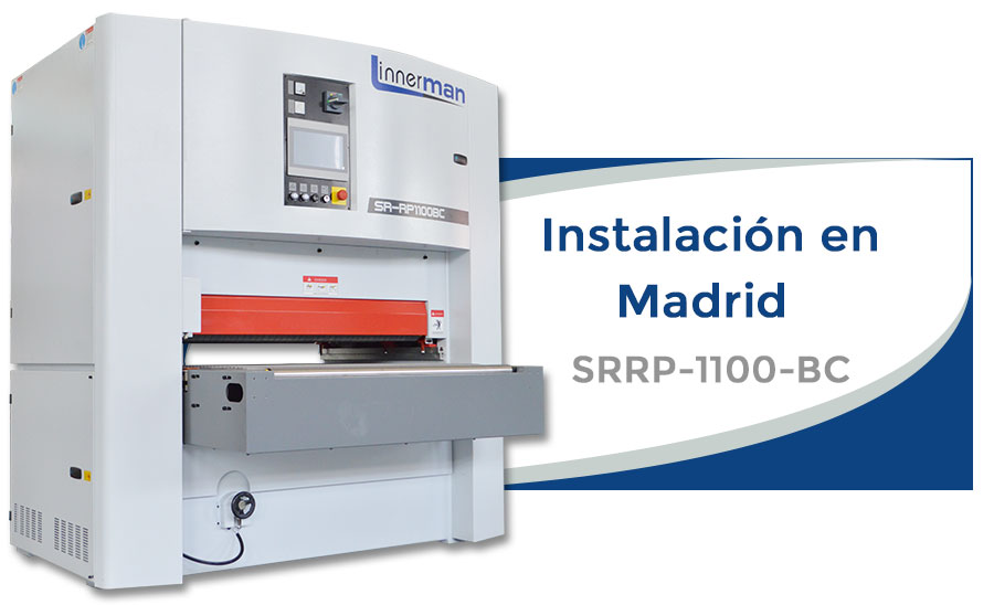 Lijadora calibradora Linnerman SRRP-1100-BC en Madrid